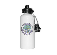 Vineland Logo 20 oz. Aluminum Water Bottle w/Pop Up Lid