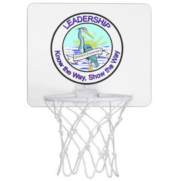 Vineland Logo Mini Basketball Hoop