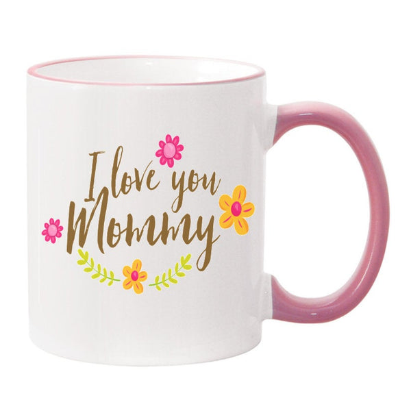 I Love You Mommy Sublimated Mug. 11 oz. 2 sided. Mom Mug. Mother's Day Mug. Gift For Mom. Mother's Day Gift. Happy Mother's Day. Mug For Mom