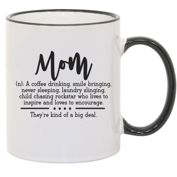 Mom Definition Mug. 11 oz. 2 sided. Mom Mug. Mother's Day Mug. Gift For Mom. Mother's Day Gift. Mom Hustle Mom. Mother Adjective Words