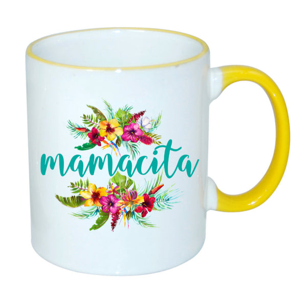 Mamacita Sublimated Mug. 11 oz. 2 sided. Mom Mug. Mother's Day Mug. Gift For Mom. Mother's Day Gift. Mamacita Mug. Espanol Mamacita Jarra