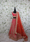 Intricate Pink Lehenga Outfit