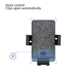 Ai Voice Control Infrared Sensor Car Wireless Charger holder for iPhone XS Max