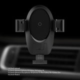 Infrared Auto-sensor Qi Wireless Car Mount Air Vent Holder