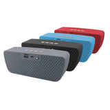 Bluetooth Wireless Speakers  with HD Enhanced Bass Outdoor Wireless Portable Phone Speakers Built-in Mic Support FM AUX TF Card USB for iPhone iPad Android Phones