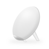 Salable Round Qi Wireless Charger Stand Fast Wireless Charging Holder - White