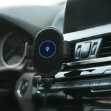Hot New Car Mount Fast Charging,Qi Fast Air Vent Gravity Phone Holder Wireless Car Charger for All Qi-Enabled Devices