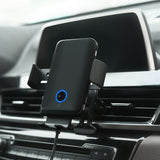 New Car Wireless Charger Automatic Infrared Sensor Voice Control Car Wireless Charger for Samsung S10