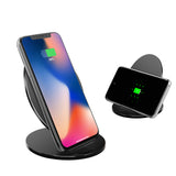 Smart Phone Fast Qi Wireless Charger Stand Mobile Phone Stand Wireless Charging Stand