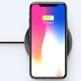 Universal Qi Wireless Charger For iPhone X 8  Portable Mobile Wireless Charger Pad