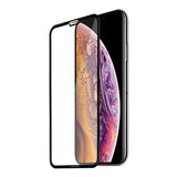 For iPhone XR 5D Round Edge Full Edge To Edge Tempered Glass