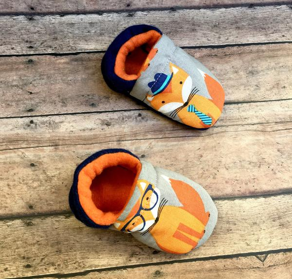 Fox Hipster Moccasins
