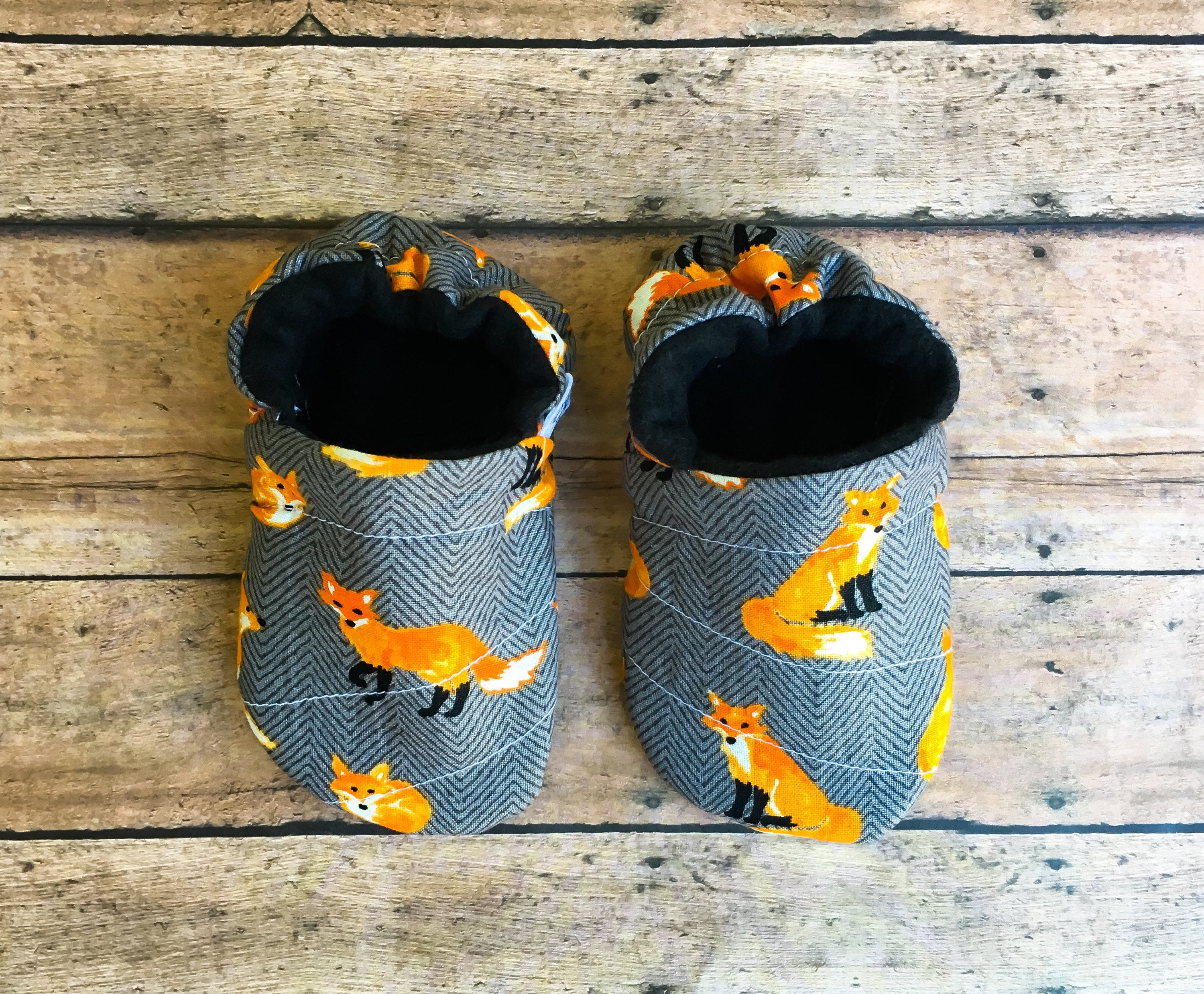 Gray Fox Moccasins
