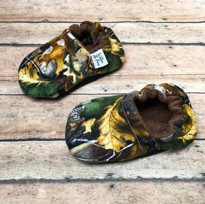 Camouflage Real Tree Moccasins