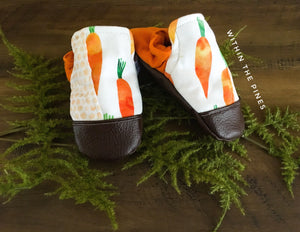 Carrot High Top Moccs (toe guard not included)