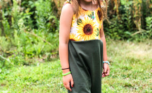 Sunflower Adjustable Jumpsuit