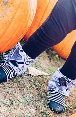 Nightmare Before Christmas Thrifty Thursday Moccs