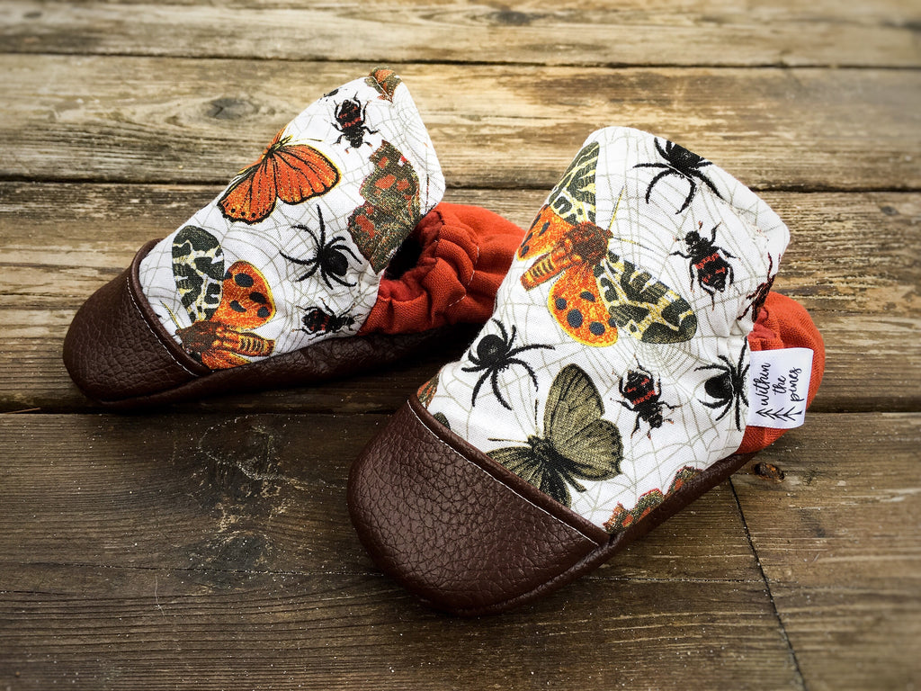 Autumn Insect Moccasins