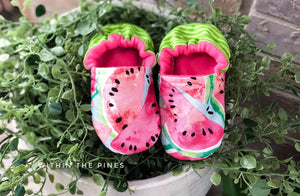 Watermelon Moccasins