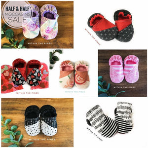 Half & Half Moccasin Grab Bag Sale