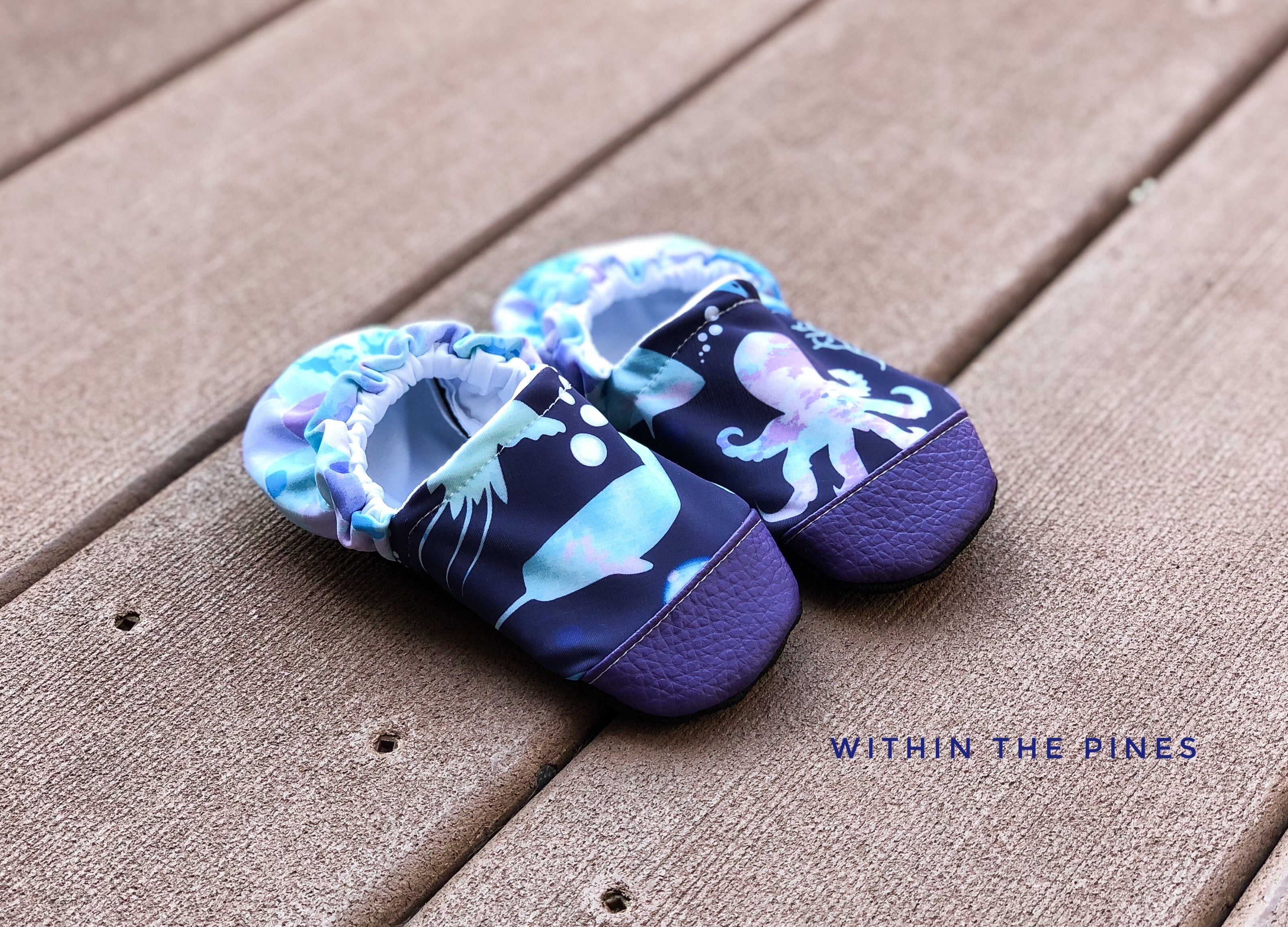 SWIM MOCCS// Sea Animal Mermaid Scale