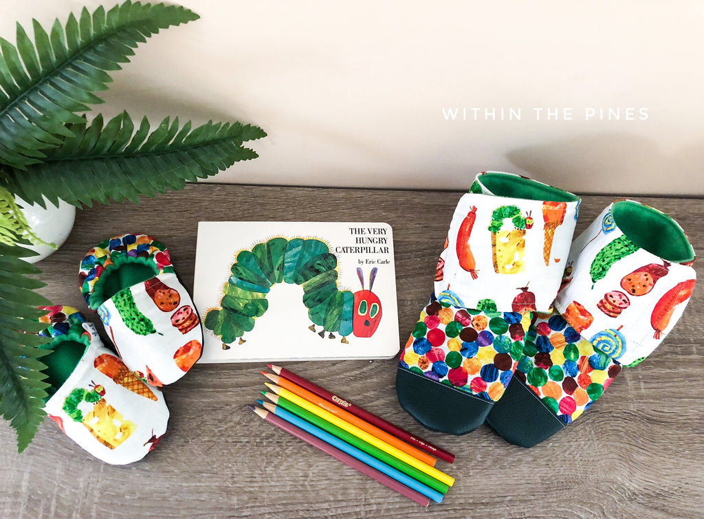 Hungry Caterpillar Moccs