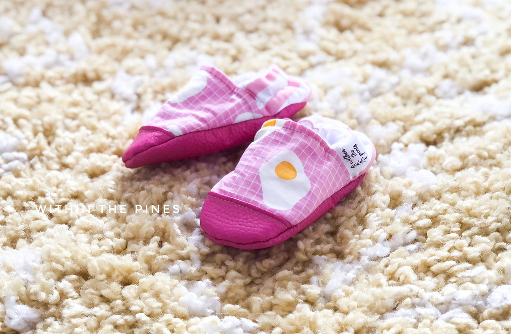 Eggs Sunny Side Up Moccs