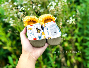 Honey Bee Moccs