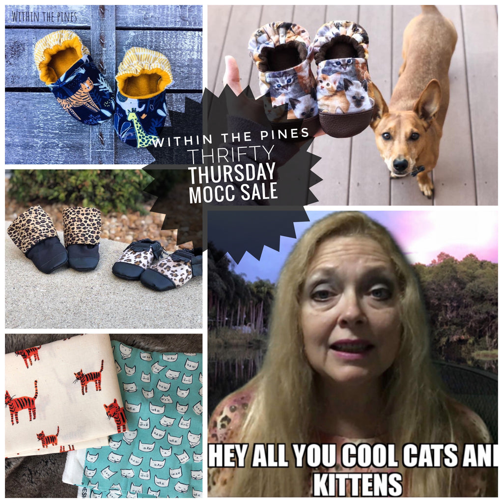 Thrifty Thursday Sale // Cool Cats & Kittens (GRAB BAG)