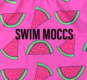 SWIM MOCCS// Watermelon