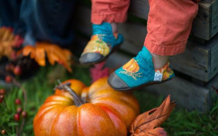 Pumpkin High Tops
