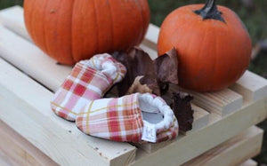 Fall Plaid Moccasins