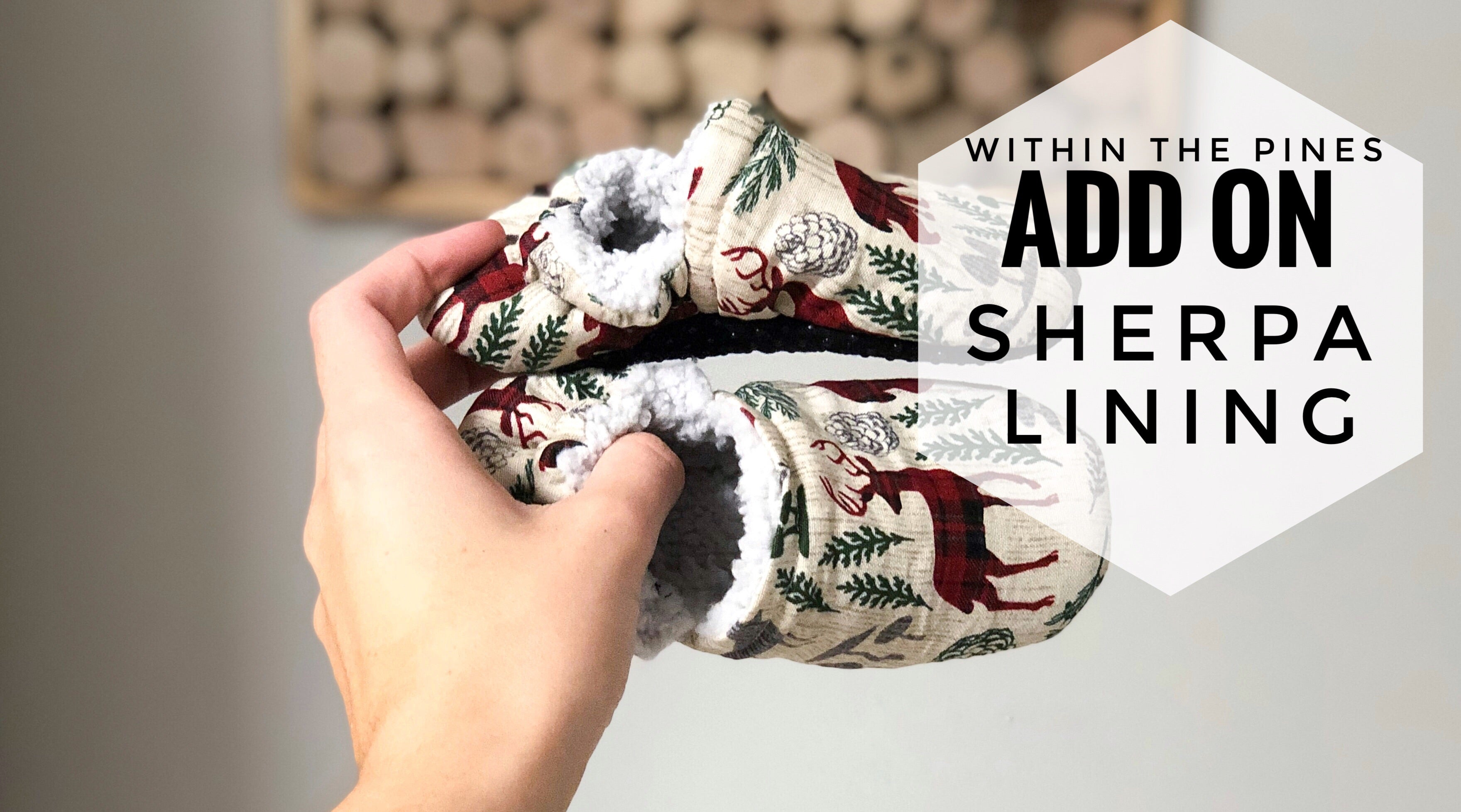 ADD ON: Sherpa Lining