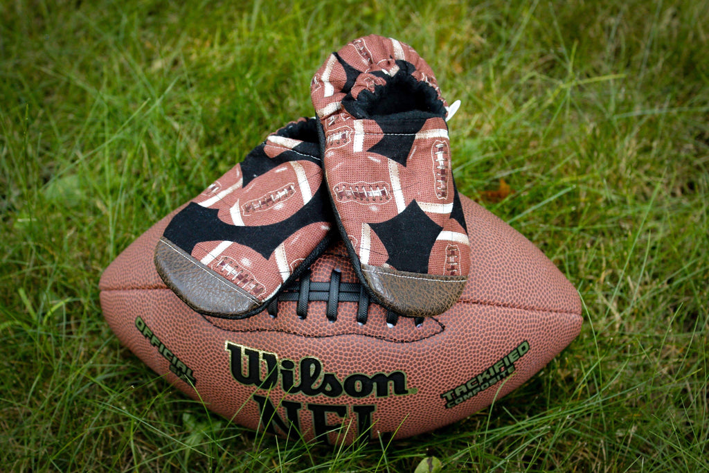 Football Moccasins With Toe Guard