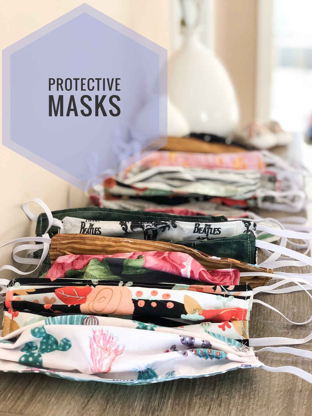 Masks (Men, Women, and Child Sizes)