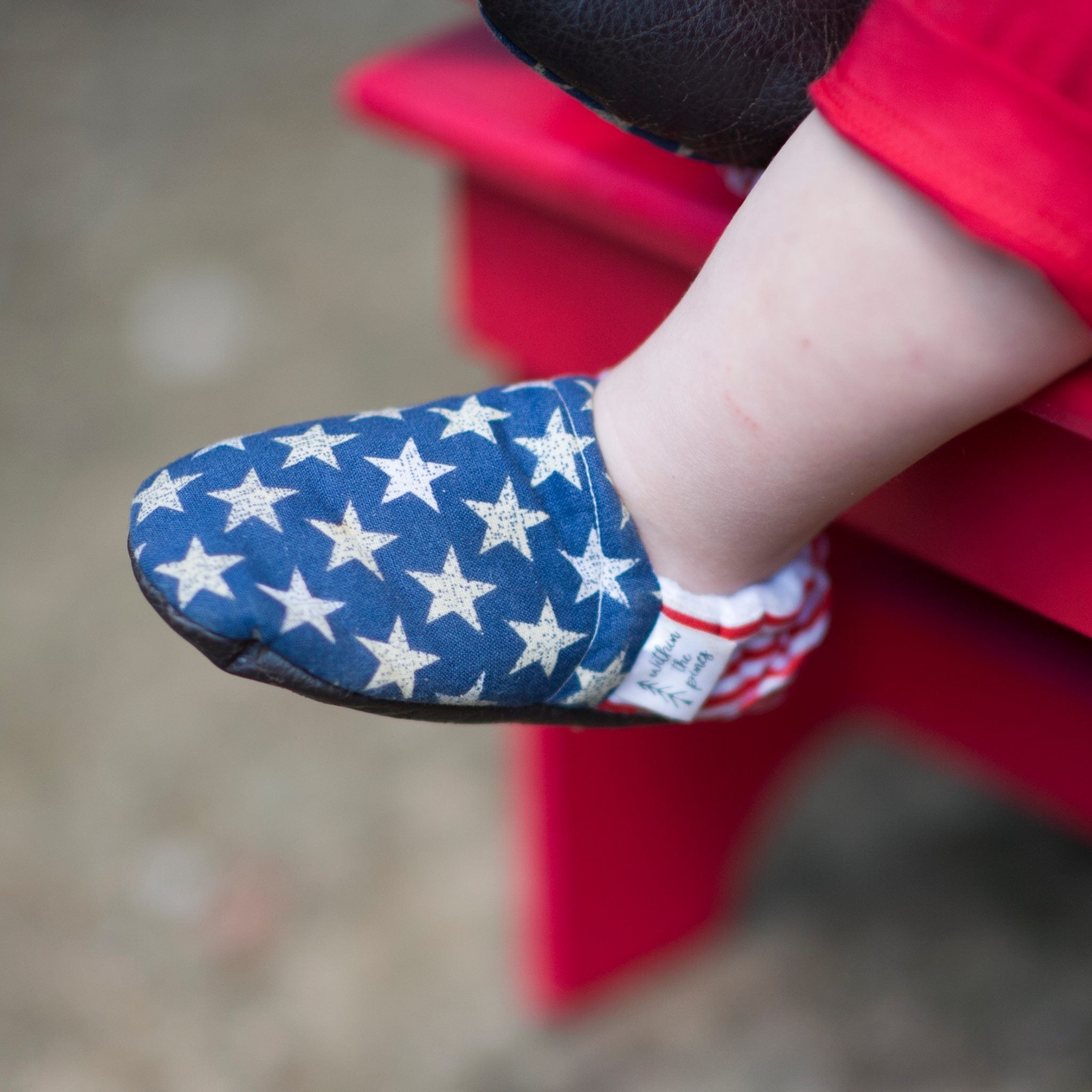 Stars & Stripes Moccasins