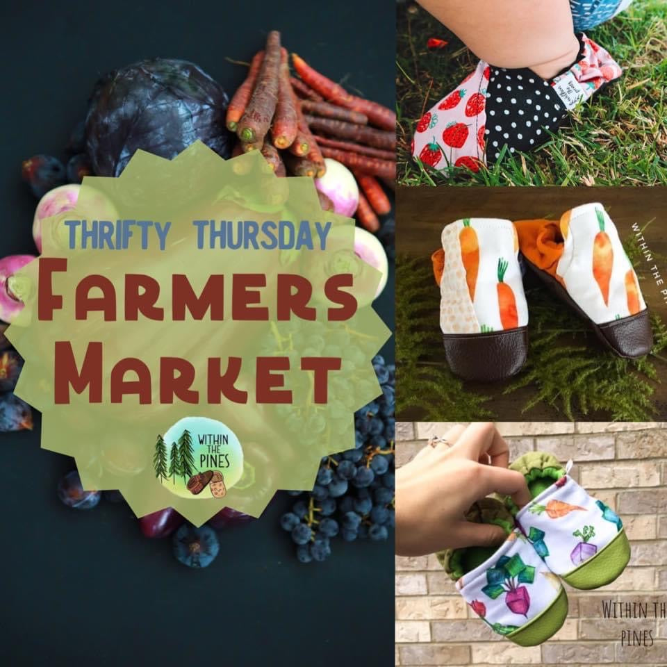 Farmers Market Thrifty Thursday Grab Bag Moccs