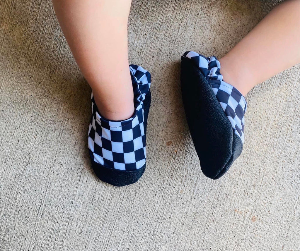 SWIM MOCCS// Checkered