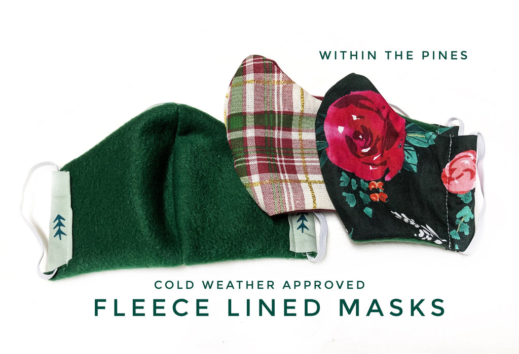 Fleece Lined Mask (Men, Women, and Child Sizes)