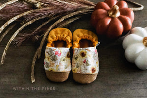 Autumn Sunflower Moccs