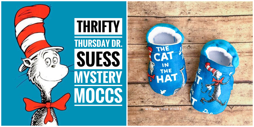 Thrifty Thursday Dr. Seuss Moccs