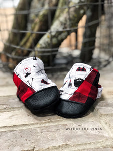 Lumberjack Plaid High Top Moccs