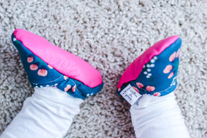 Whimsical Blooms Moccs