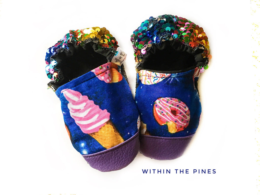 Galactic Sweet Treat Moccasins
