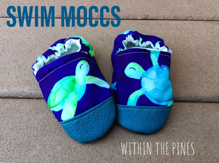 SWIM MOCCS// Sea Turtles
