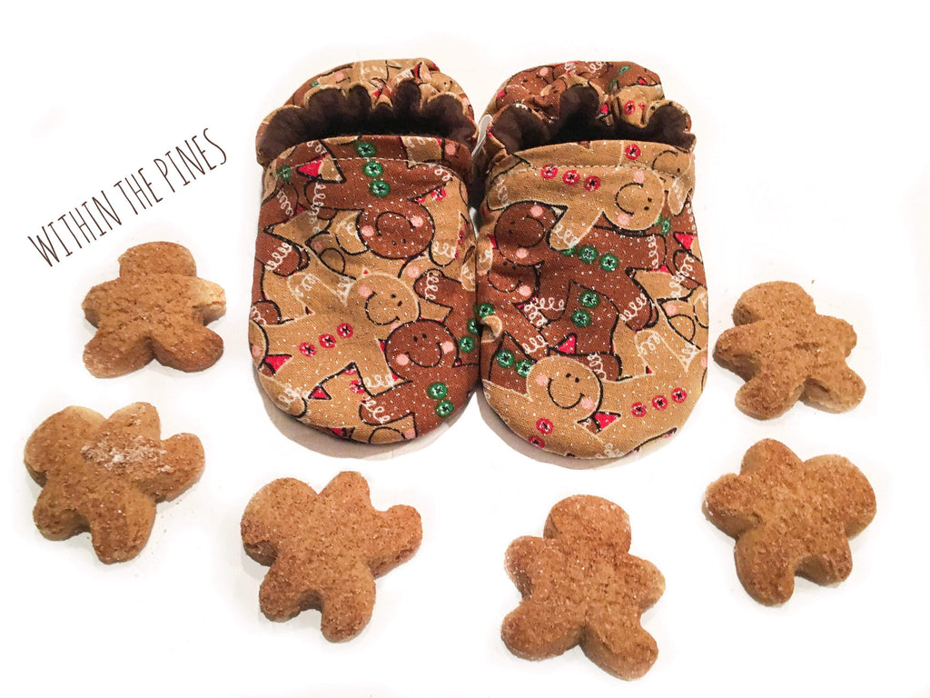 Gingerbread Moccasins