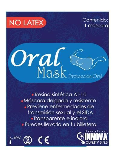 CONDÓN PARA SEXO ORAL UNIQUE ORAL MASK