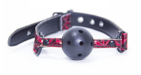 LUXURY FETISH BALL GAG PINK