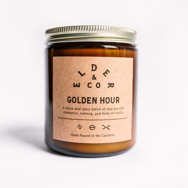Golden Hour Candle Elder & Co.