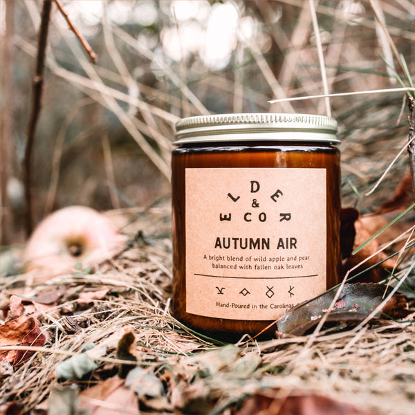 Autumn Air Candle Elder & Co.